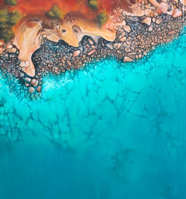 Love Over Gold - ocean painting by Scott Denholm artist