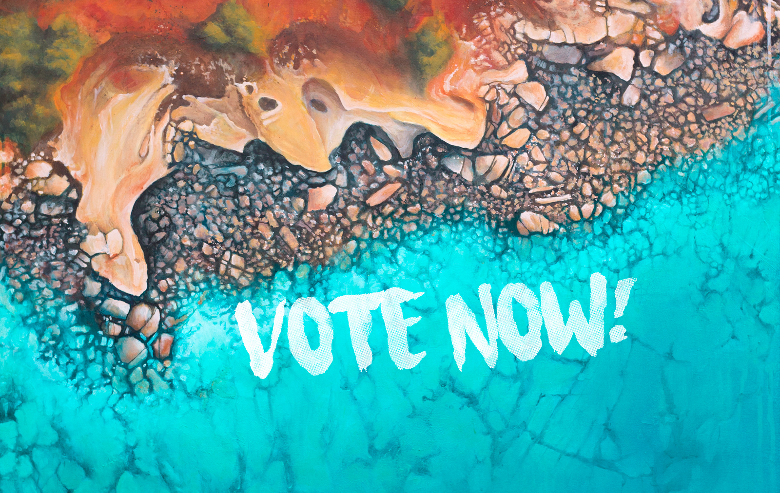 Bluethumb Art Prize : Vote for Scott Denholm -Love Over Gold - People's Choice Award